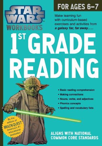 Star Wars Workbook: 1st Grade Reading (Star Wars Workbooks)
