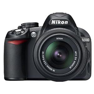 ニコン Nikon デジタル一眼レフカメラ D3100 標準ズームレンズ「AF-S DX NIKKOR 18-55mm f3.5-5.6G VR」のセットモデル並行輸入品