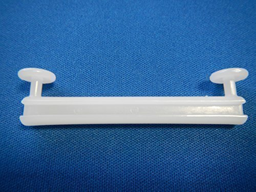 """""""Dekohaken24"""" – Schlaufengleiter, 50 Stück. , für 5 cm Schlaufen, zum Dekorieren von Schlaufenschals / Schlaufenvörhängen an einer Gardinenstange oder Gardinenschiene"""
