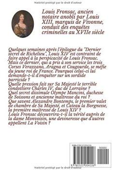 Livres Couvertures de MENACES SUR LE ROI: Les enquêtes de Louis Fronsac