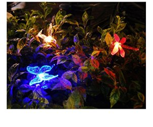 humming bird butterfly dragonfly solar lights