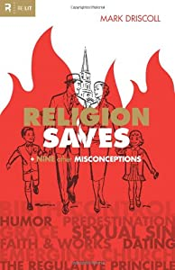 "Cover of ""Religion Saves: And Nine Other ..."