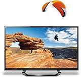 LG 55LM615S 140 cm (55 Zoll) Cinema 3D LED-Backlight-Fernseher, Energieeffizienzklasse A (Full-HD, 200Hz MCI, DVB-T/C/S2) schwarz