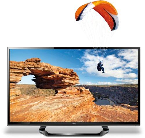 LG 47LM615S 119 cm (47 Zoll) Cinema 3D LED-Backlight-Fernseher, Energieeffizienzklasse A+ (Full-HD, 200Hz MCI, DVB-T/C/S2) schwarz