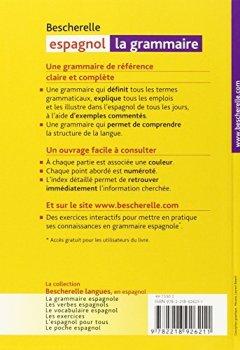 Livres Couvertures de Espagnol : La grammaire