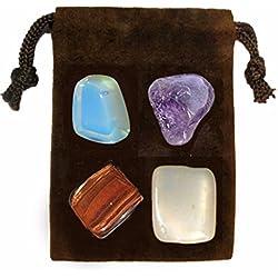 Gemstone ENERGY SET Crystal Healing - PSYCHIC POWER