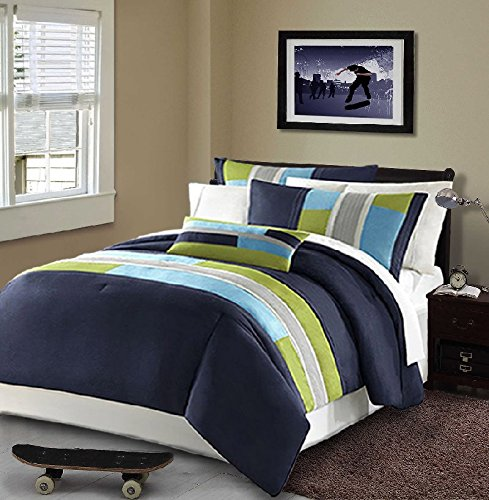 Navy Blue Bedding Sets And Quilts Ease Bedding With Style