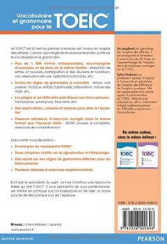 Livres Couvertures de Vocabulaire et grammaire pour le TOEIC 2e édition