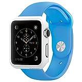 Apple Watch ケース, Spigen? [パーフェクト-フィット] シン・フィット アップル ウォッチ (42mm) 【国内正規品】(2015) (スムース・ホワイト【SGP11499】)
