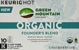 Green Mountain Coffee Organic Founder's Blend, 0.41 Oz