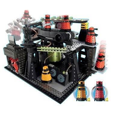 Doctor Who Dalek Factory Construction Playset