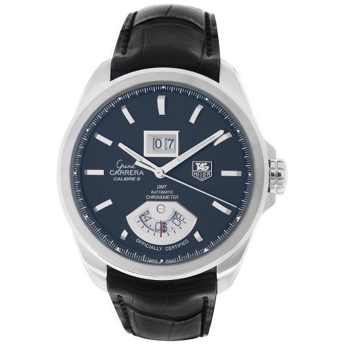 TAG Heuer Men's WAV5111.FC6225 Grand Carrera Grand Date GMT Watch