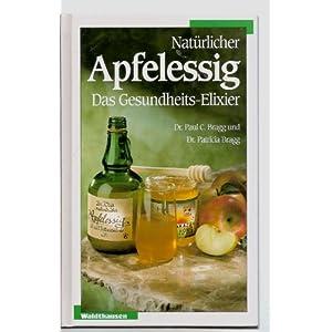 Natürlicher Apfelessig