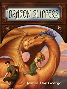 """Cover of """"Dragon Slippers (Thorndike Pres..."""