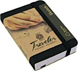 Pentalic Traveler Pocket Journal Sketch, 3-Inch by 4-Inch, Black