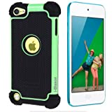 i-Blason Armadillo Series 2 Layer Defender Case for iPod touch 5G (Green)