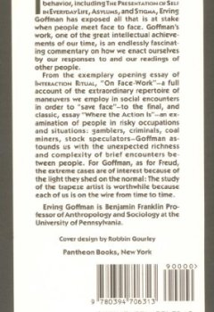 Livres Couvertures de Interaction Ritual: Essays on Face-to-Face Behavior