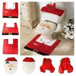 Santa Suit Christmas Cutlery Holders xmas Table Decoration Place Setting Gift -3 Sets