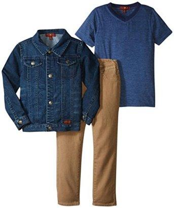 7-For-All-Mankind-Standard-5-pocket-Jeans-Set-Toddler-Heather-Navy-2T