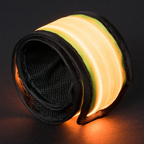 ASCT LED Strobe Light Up Slap Armband & Wristband