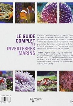 Livres Couvertures de Le guide complet des invertébrés marins
