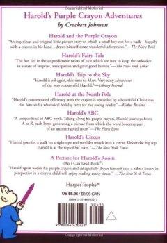 Livres Couvertures de Harold and the Purple Crayon