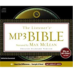 The Listener's Bible - ESV (4 MP3 CDs)