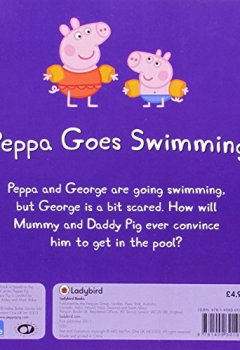 Livres Couvertures de Peppa Pig: Peppa Goes Swimming