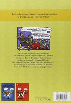 Livres Couvertures de L'histoire de France en BD, Tome 2 : Du Moyen Age à la Révolution
