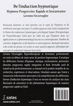 Livres Couvertures de De l'induction hypnotique : Hypnose progressive, rapide et instantanée