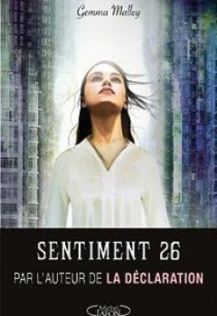 Livres Couvertures de Sentiment 26