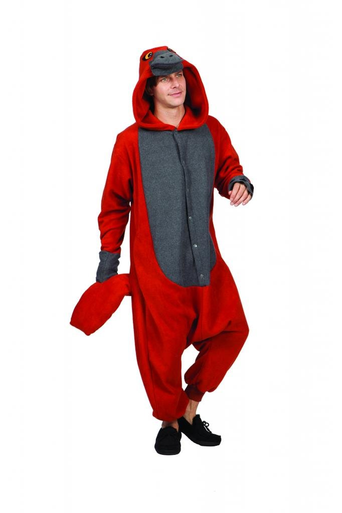 Costumes Adult Onesie Patty Platypus