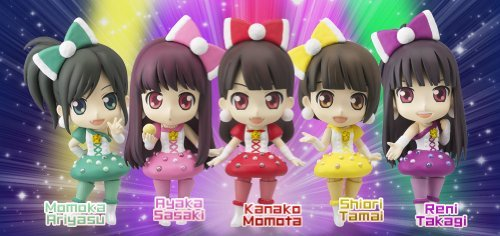 Momoiro Clover Z Chibi-arts (Figure 5 Pieces)+ Limited Edition Sockets(autographed-message)