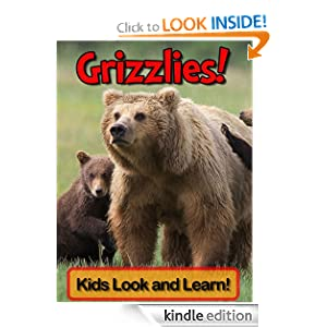 Grizzly Bears! Learn About Grizzly Bears and Enjoy Colorful Pictures - Look and Learn! (50+ Photos of Grizzly Bears)