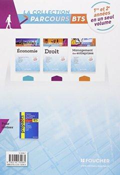 Livres Couvertures de Parcours Droit BTS 1re et 2e années