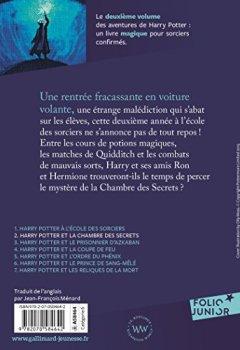 Livres Couvertures de Harry Potter, II:Harry Potter et la Chambre des Secrets