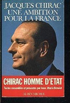 Livres Couvertures de Jacques Chirac, Une Ambition Pour La France