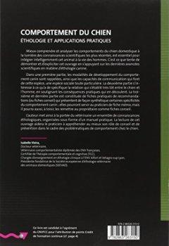 Livres Couvertures de Comportement du chien : Ethologie et applications pratiques