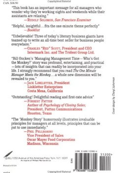 Livres Couvertures de One Minute Manager Meets The Monkey, The
