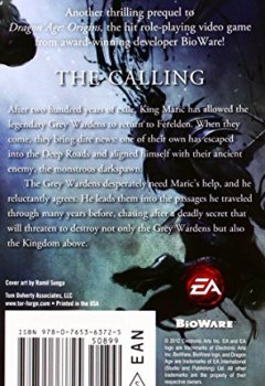 Livres Couvertures de Dragon Age: The Calling