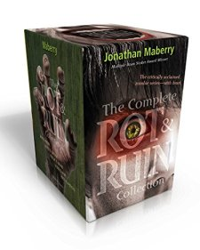 The Complete Rot & Ruin Collection: Rot & Ruin; Dust & Decay; Flesh & Bone; Fire & Ash; Bits & Pieces by Jonathan Maberry| wearewordnerds.com