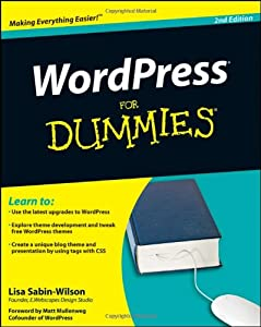 "Cover of ""WordPress For Dummies"""