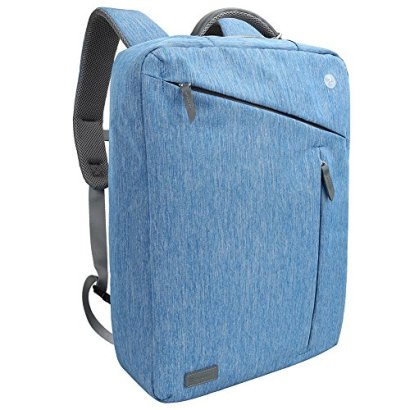 Laptop-Briefcase-Backpack-Evecase-Water-Resistant-Convertible-Laptop-Canvas-Briefcase-Backpack-fits-up-to-173-inch-Laptop-Blue