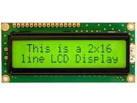 LCD 16x2 Alphanumeric Display(JHD162A) for 8051,AVR,Arduino,PIC,ARM All