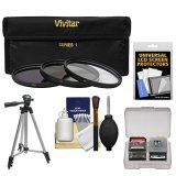 Vivitar-Series-1-3-Piece-Multi-Coated-HD-Pro-Filter-Set-405mm-UVCPLND8-with-Tripod-Cleaning-Accessory-Kit-for-Nikon-1-V1-J1-Interchangeable-Lens-Digital-Camera-with-10mm-f28-30-110mm-VR-10-30mm-Lens
