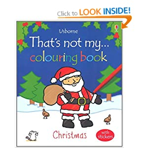 Christmas (That's Not My...Colouring Book)