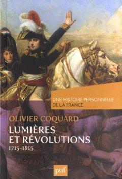 Livres Couvertures de Lumières et révolutions (1715-1815)
