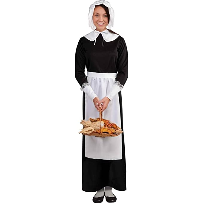 Pilgrim Woman Costume Kit