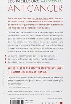Livres Couvertures de Les meilleurs aliments anticancer