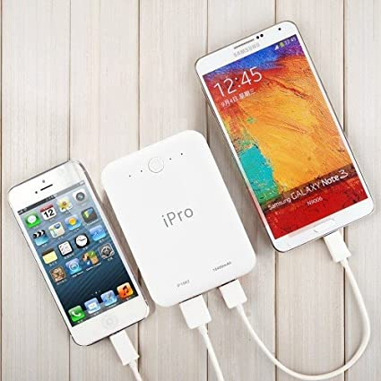 iPro 10400mAH Power Bank for Smartphones and Tablets